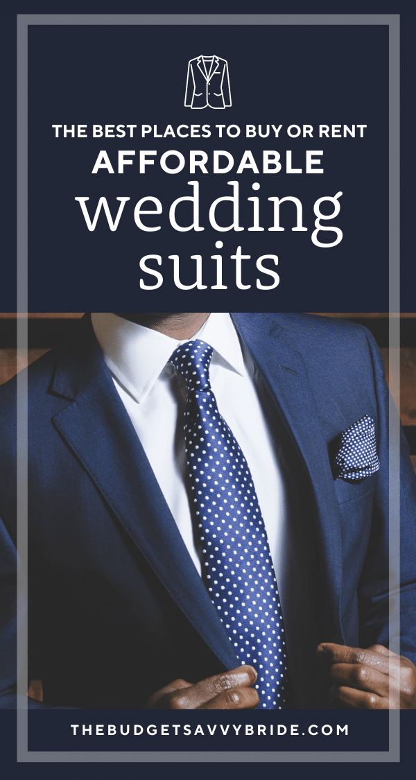 the best places to buy affordable wedding suits