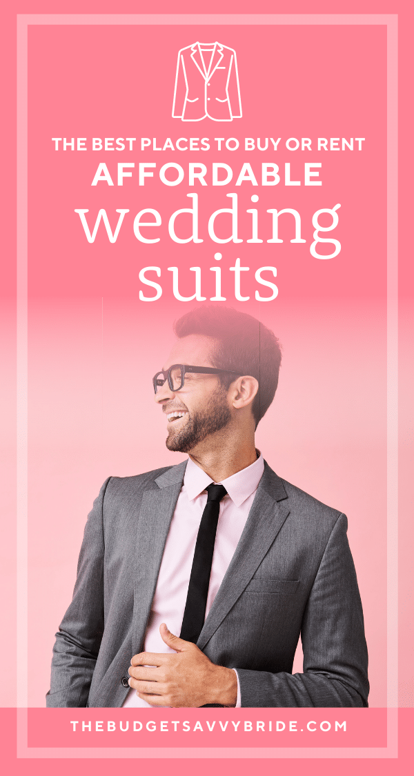 where to buy affordable wedding suits for grooms and groomsmen or wedding guests