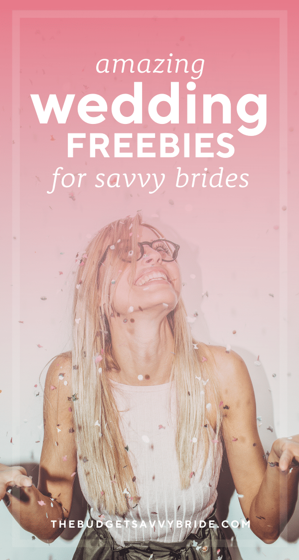 Getting married comes with savvy perks! Check out this list of the Best Wedding Freebies for Engaged Couples in 2021 to score some free stuff for your wedding!