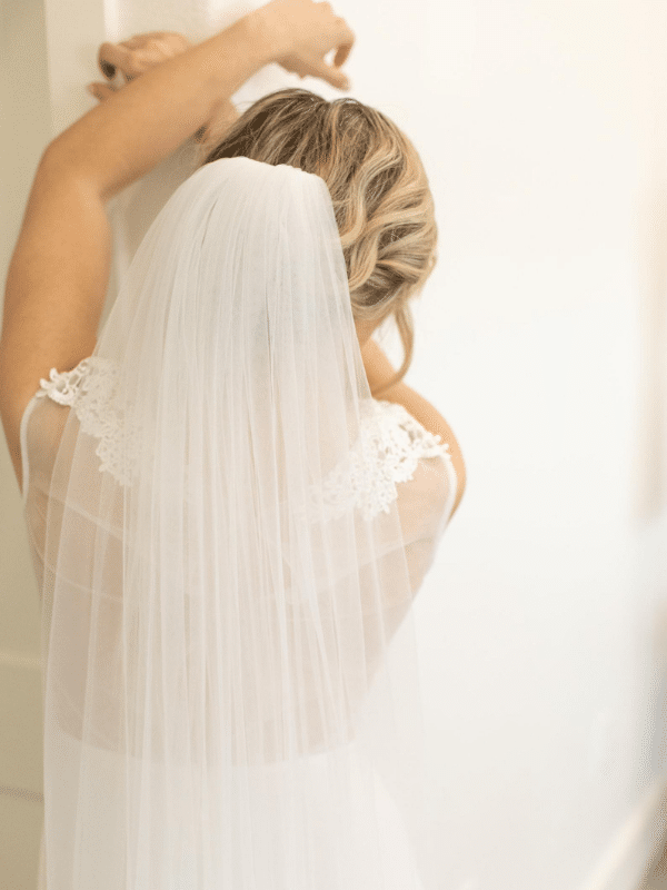 traditional tulle veil from BlancaVeils on etsy