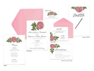 Grace Suite - Free Wedding Invitation Printables from The Budget Savvy Bride