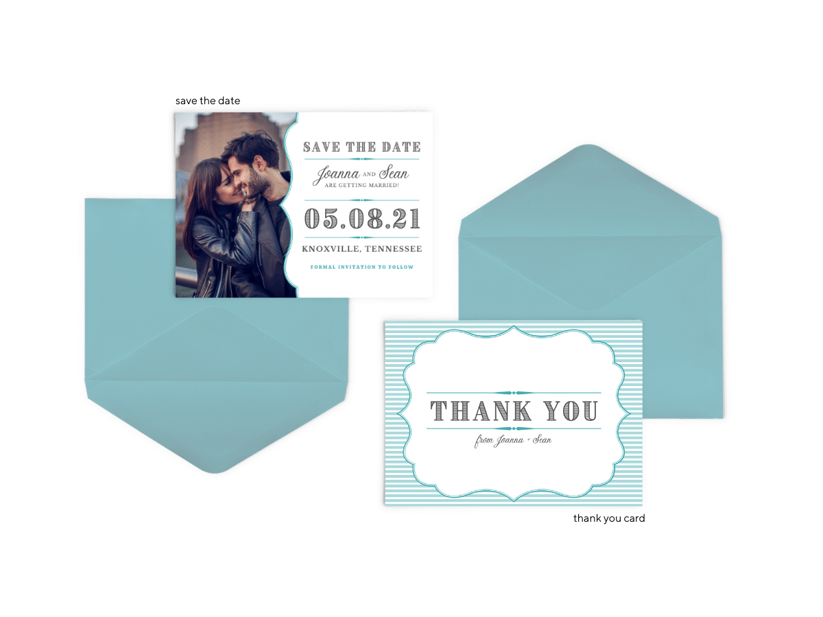 Amber Suite - Free Wedding Invitation Printables from The Budget Savvy Bride
