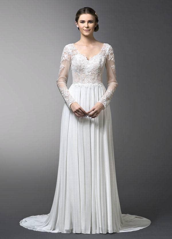 Azazie Titania Bridal Gown in Diamond White