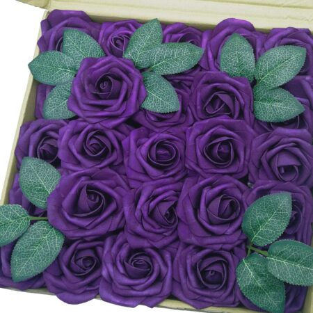 Realistic Faux Roses 50 ct.
