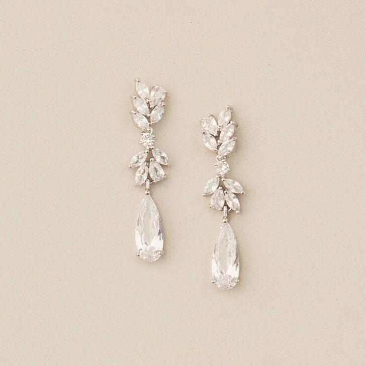 Crystal Stone Earrings