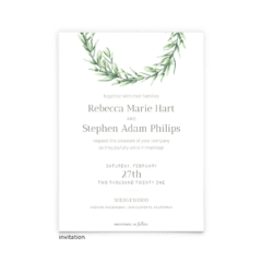 Chelsea Wedding Invitation - Free Printable Wedding Invitations - Edit with Canva!