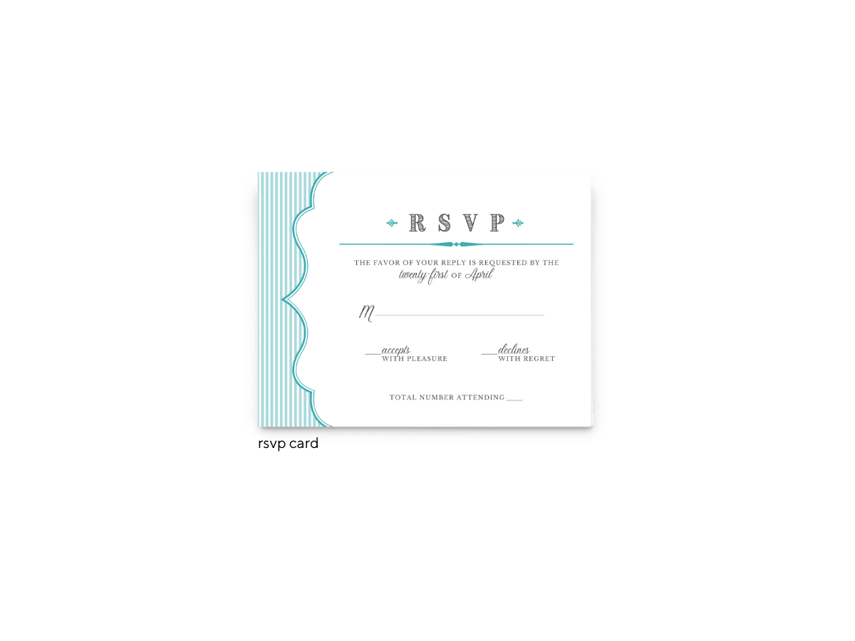 Amber RSVP Card - Free Printable Wedding Invitations - Edit with Canva!