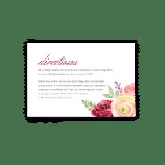 Nickell Enclosure Card - Free Printable Wedding Invitations - Edit with Canva!