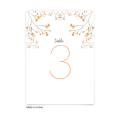 Free Editable Wedding Table Numbers • Bryce Collection • The Budget Savvy Bride