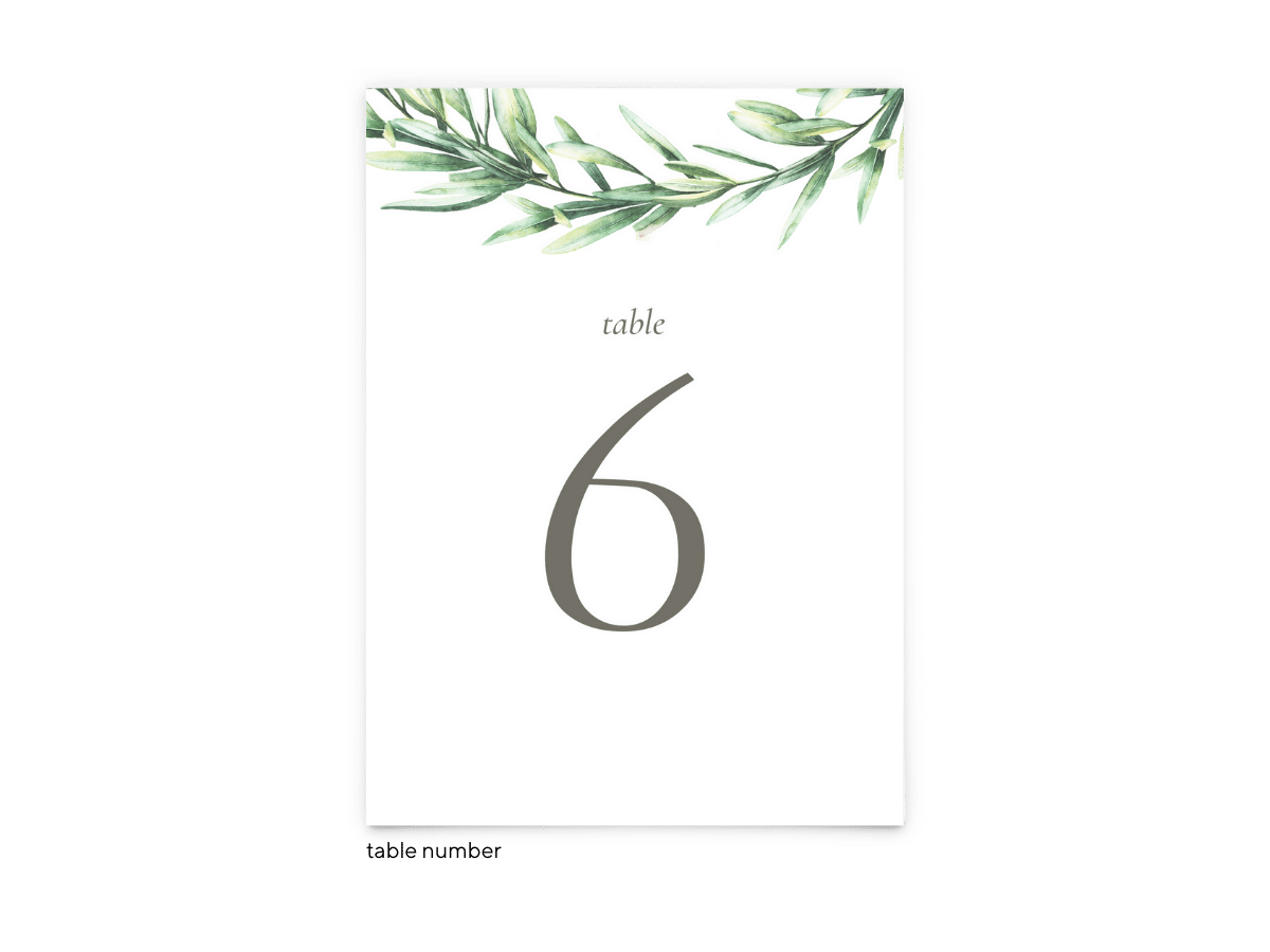 Free Editable Wedding Table Numbers • Chelsea Collection • The Budget Savvy Bride