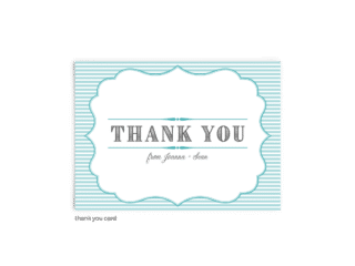 Free Editable Wedding Thank You Cards • Amber Collection • The Budget Savvy Bride