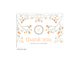 Free Editable Wedding Thank You Cards • Bryce Collection • The Budget Savvy Bride