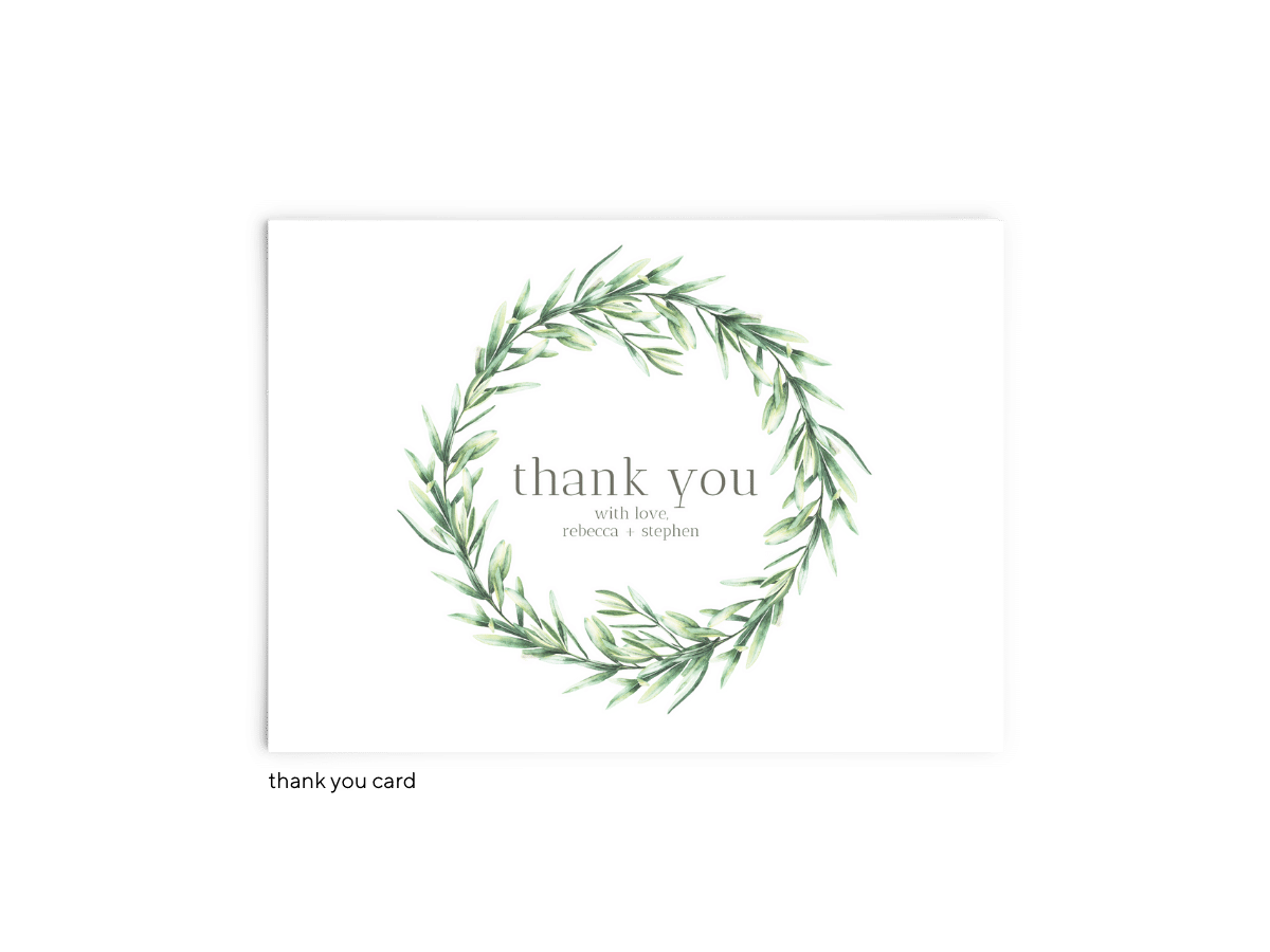 Free Editable Wedding Thank You Cards • Chelsea Collection • The Budget Savvy Bride