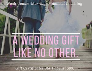 Marriage Financial Coaching - Unique Wedding Gift 2