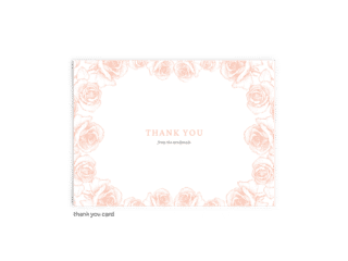 Free Editable Wedding Thank You Cards • Phoebe Collection • The Budget Savvy Bride