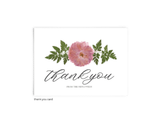 Free Editable Wedding Thank You Cards • Grace Collection • The Budget Savvy Bride