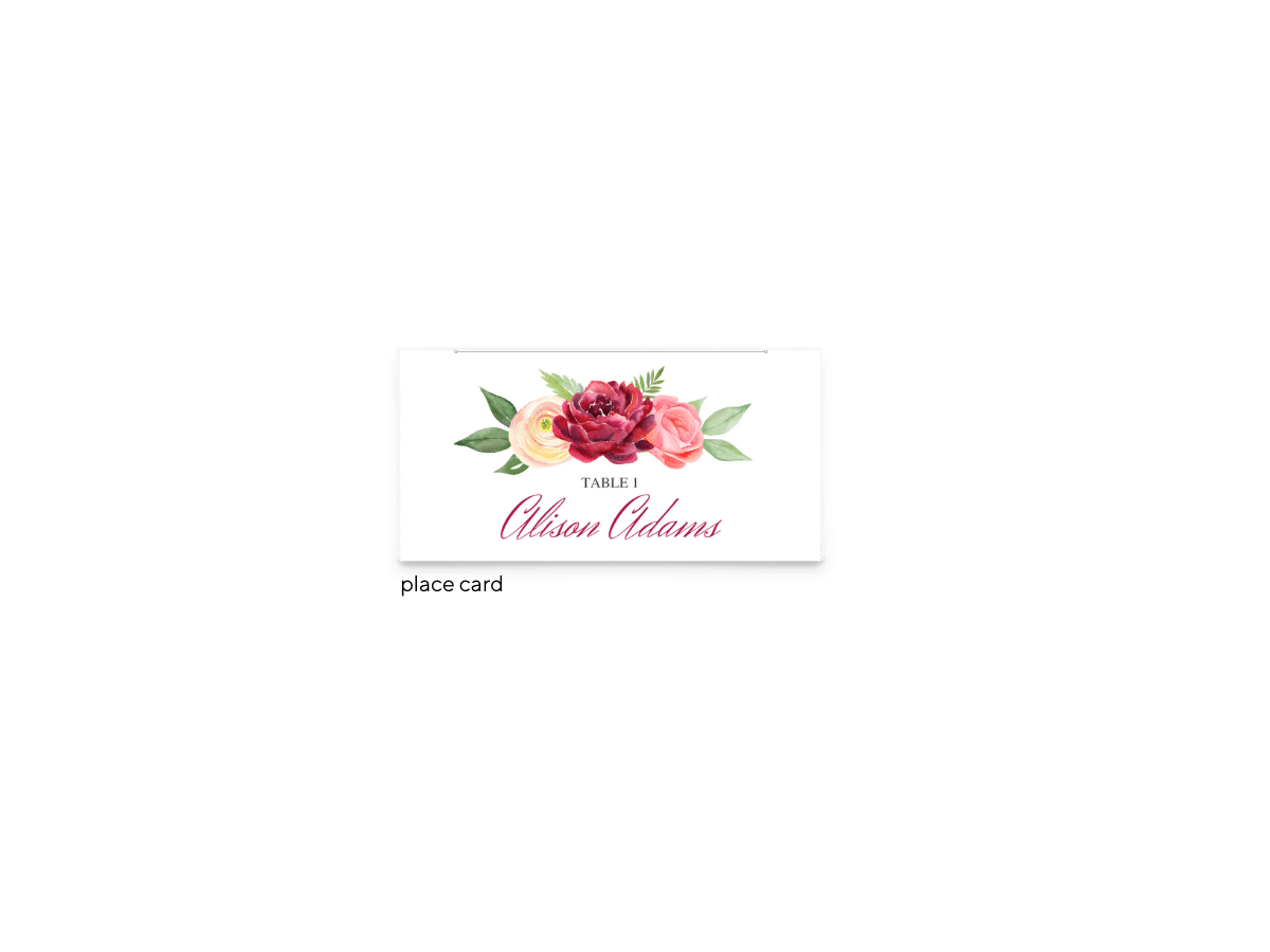 Free Editable Wedding Place Cards • Nickell Collection • The Budget Savvy Bride