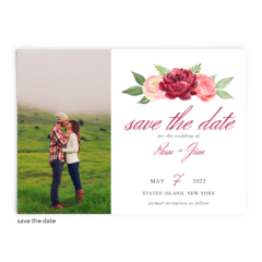 Save the Date Card • Nickell Collection • The Budget Savvy Bride