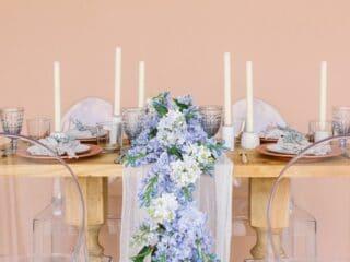 online wedding rental companies - something borrowed blooms