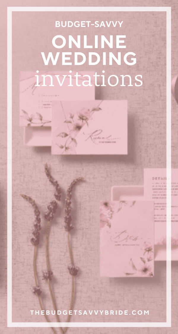 If paper is low on your list of wedding priorities, check out this list of sites where you can buy cheap wedding invitations that look like a million bucks!