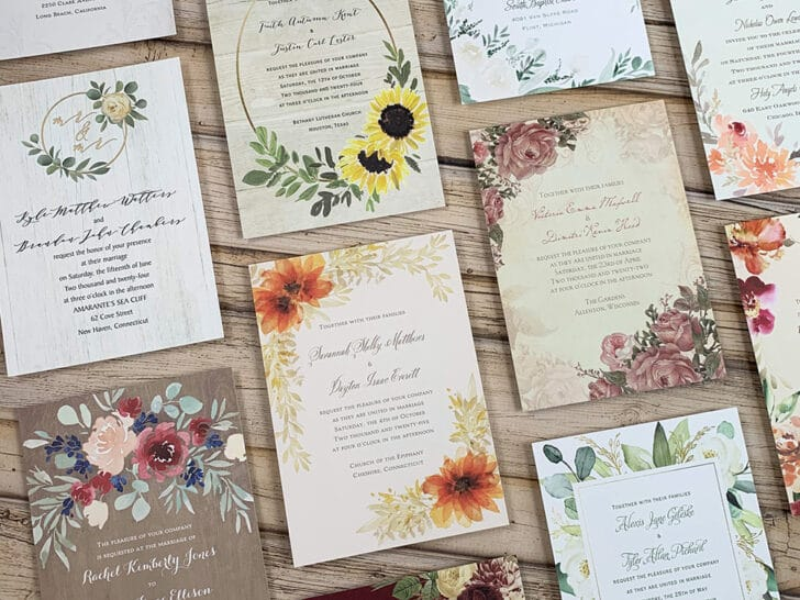 Ann's Bridal Bargains - affordable wedding invitations - cheap wedding invites