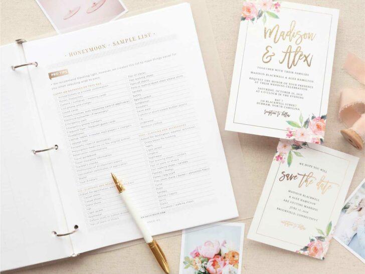 Basic Wedding Invite - Cheap Wedding Invitations