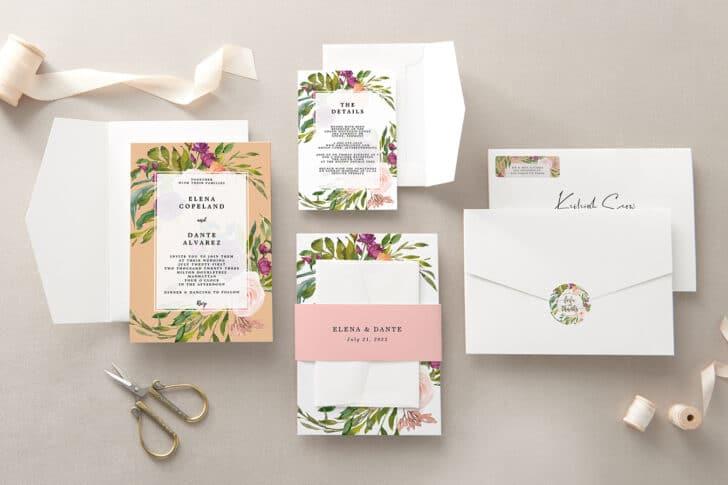 zazzle wedding invitations - beautiful wedding invitations on a budget