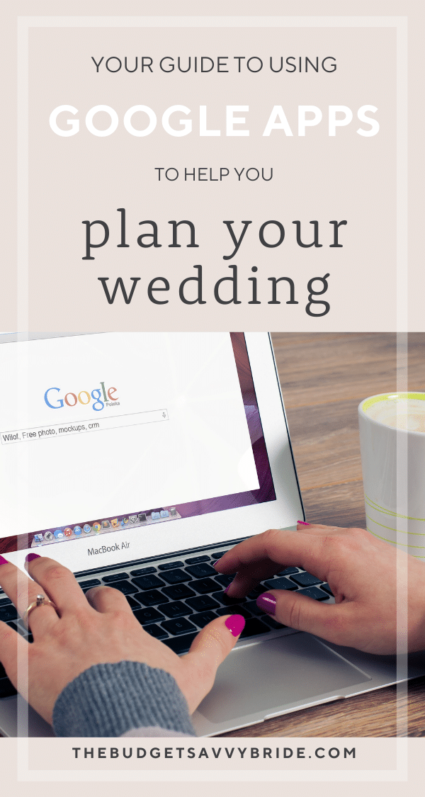 Google has a whole suite of tools that are completely FREE that are super helpful with wedding planning organization!
